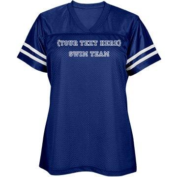 Simple Swim Team Shirt