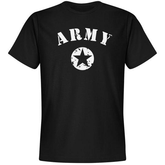 Simple Trendy Army Star
