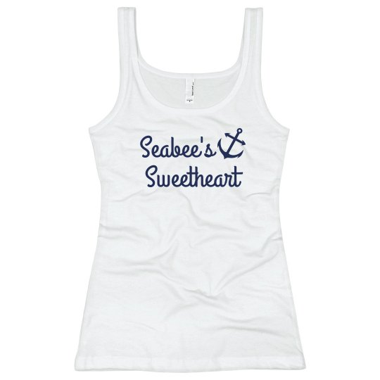Simple Trendy Navy Sweet Heart