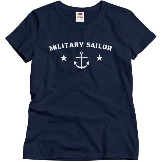 Simple Trendy US Sailor