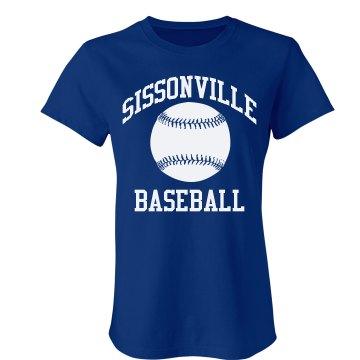 Sissonville Baseball Tee