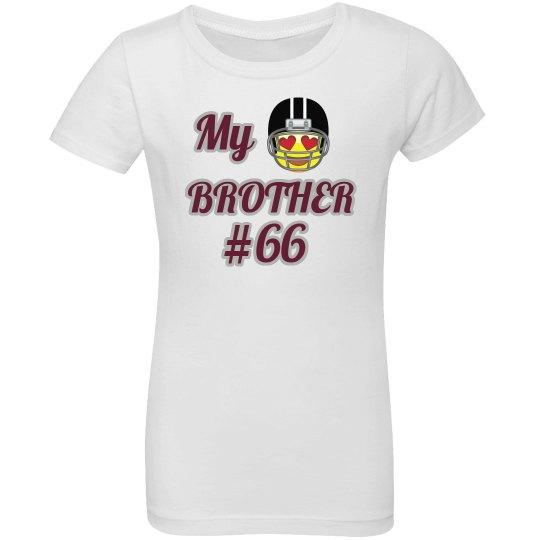 Sister Football Emoji Shirt