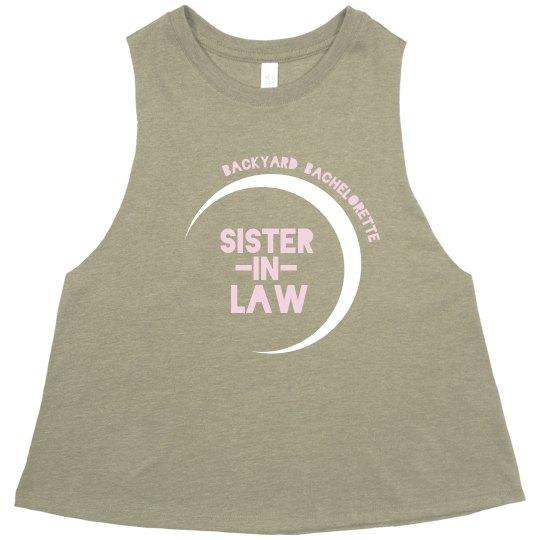 Sister-in-law Backyard Bachelorette