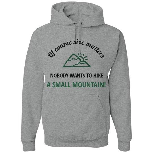 Size Matters Hiking Performance