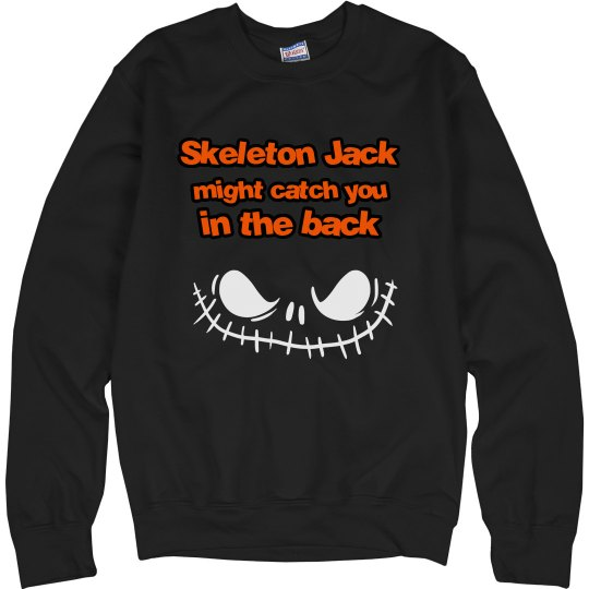Skeleton Jack Sweatshirt