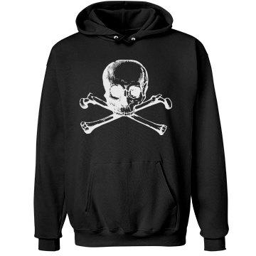 Skull and Bones Hoodie