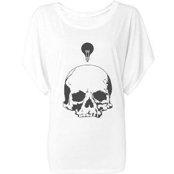 Skull and Lightbulb