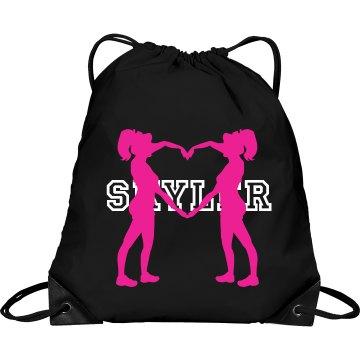 Skyler cheer bag