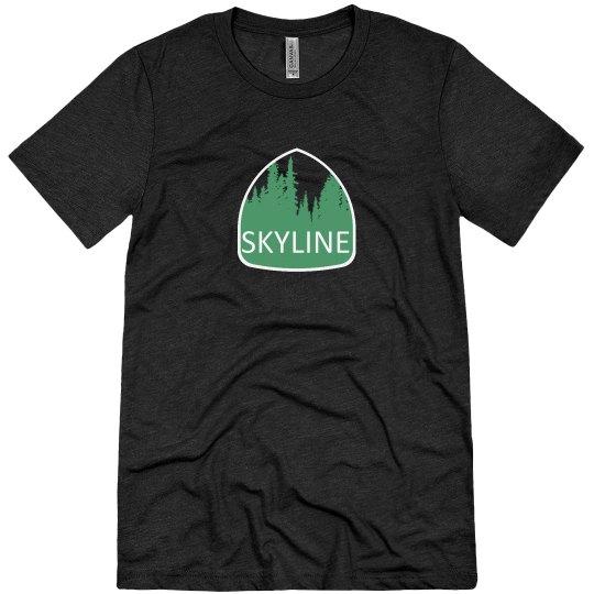 Skyline Redwood Forest Men's Tee