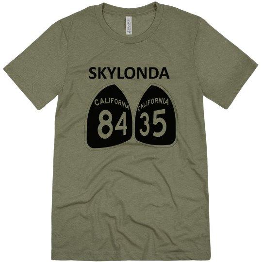 Skylonda CA - black ink