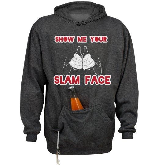 Slam Face Hoodie #MKOT