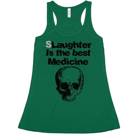 Slaughter Green Tee