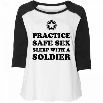 Sleep with a Military Man