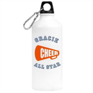 SLMS cheerleading bottle