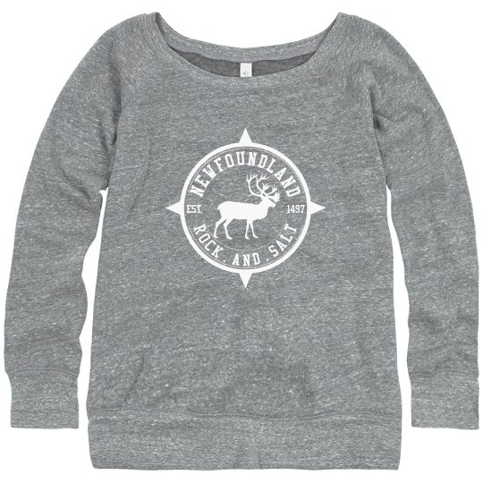 Slouchy caribou sweater