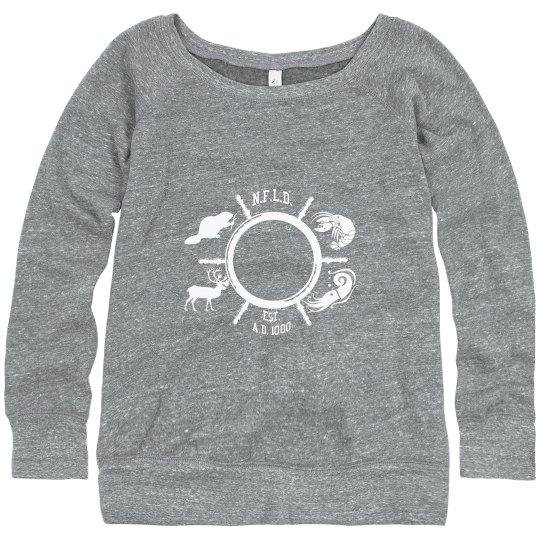 Slouchy Newfoudland Animals sweater