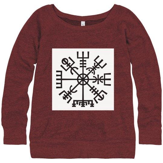 Slouchy Vegvisir sweater