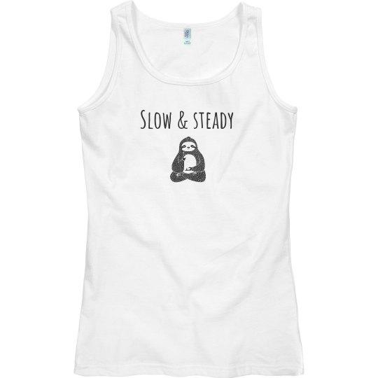 Slow & steady sloth tank