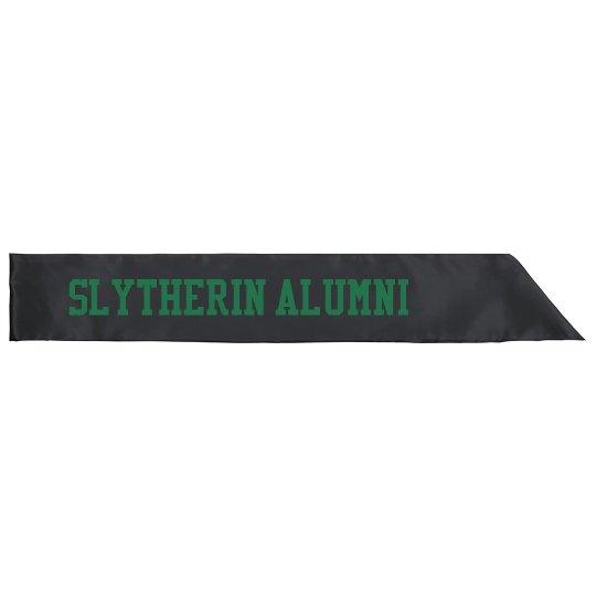 Slytherin Alumni Halloween Sash