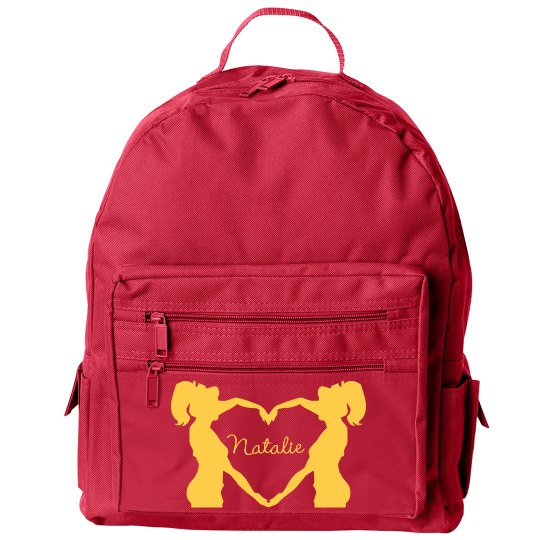 Small Cheer Backpack With Custom Name