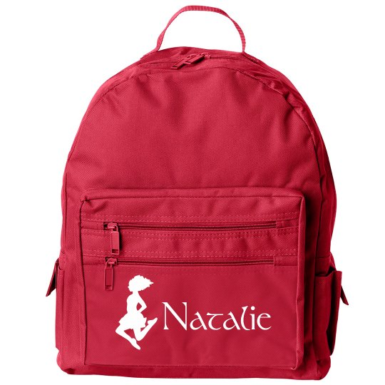 Small Irish Step Set Dancing Backpack With Custom Name