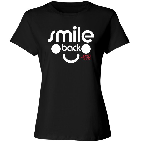 Smile Back (blk/white)