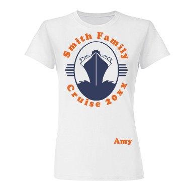 Smith Family Cruise Tee
