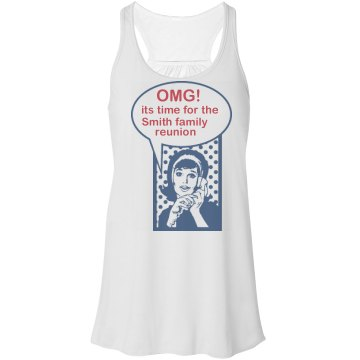 Smith Family Reunion Tank