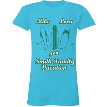Smith Family Vacation