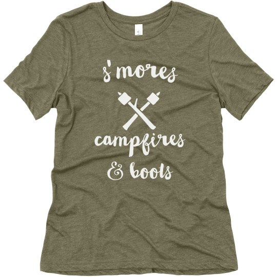 S'mores, Campfires & Boots
