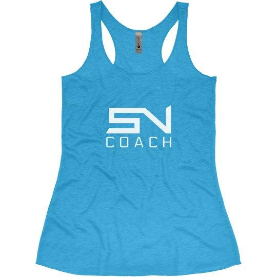 SN Coach Tank (Turquoise)