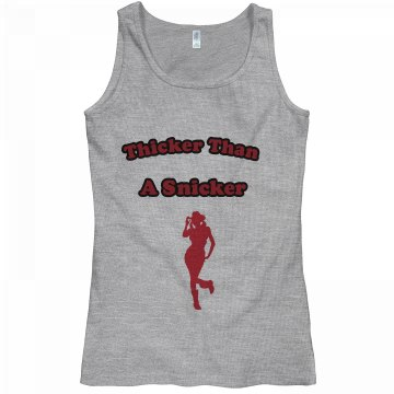snicker grey/red tee