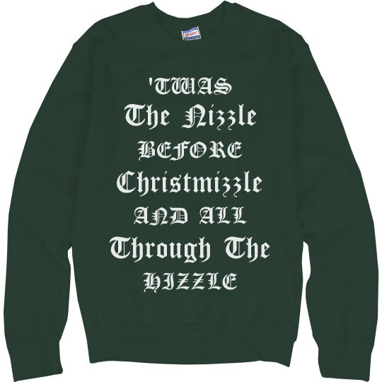 Snoop Dogg Christmas Sweater Nizzle