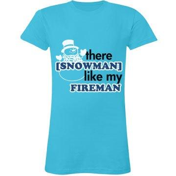 Snowman Fireman