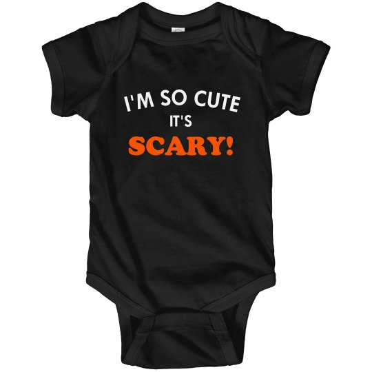 So Cute It's Scary Halloween Baby
