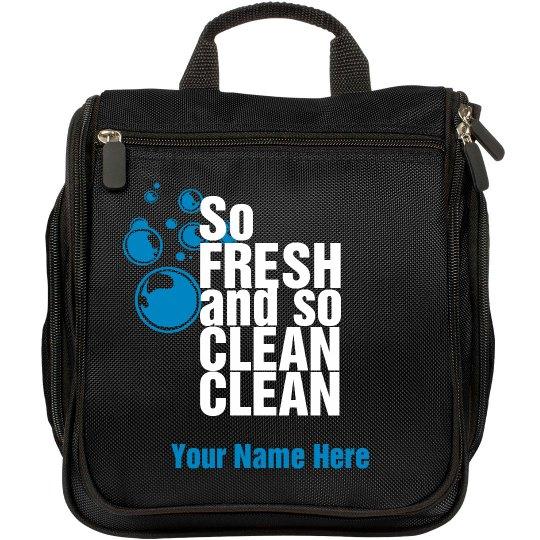 So Fresh and So Clean Clean travel toiletries bag