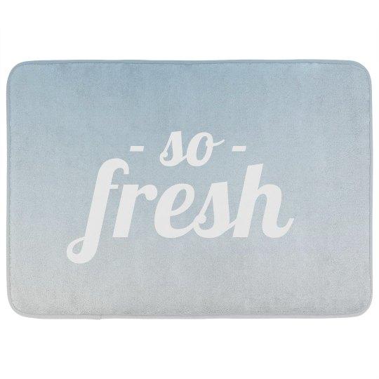 So Fresh Bath Mat