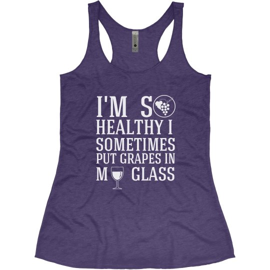 So Healthy - Wine Tank