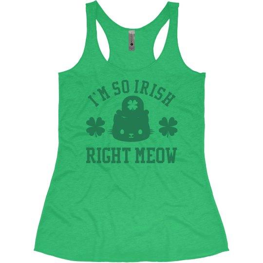 So Irish Right Meow