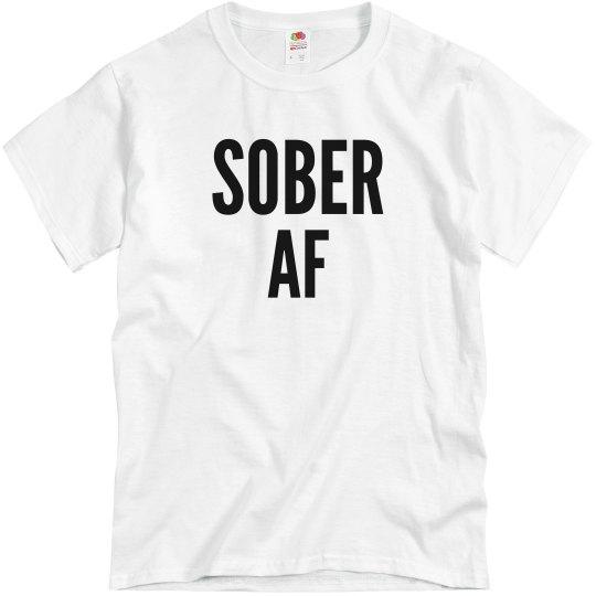 sober AF black