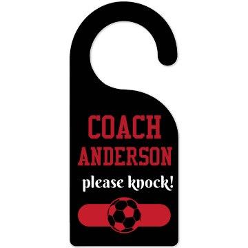 Soccer Coach Office