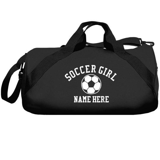 Soccer Girl Bag