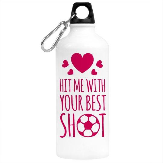 Soccer Girl Water Bottle