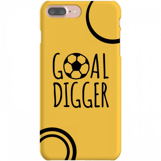 Soccer Phone Case Yellow