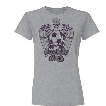 Soccer Purple Wing
