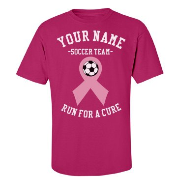 Soccer run for a cure
