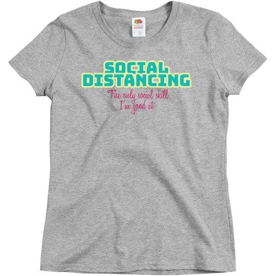 Social skill tee - gray