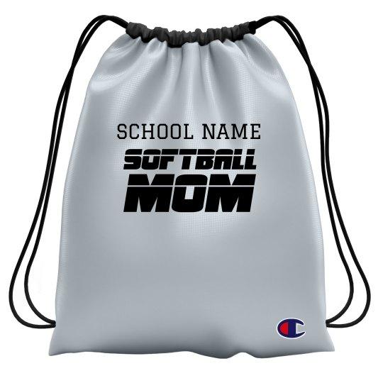 Softball Mom Custom Bag