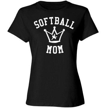 Softball mom deserves crown