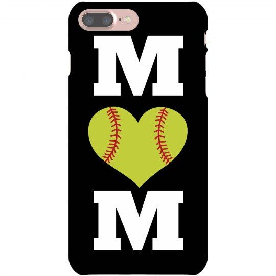 Softball Mom Phone Case